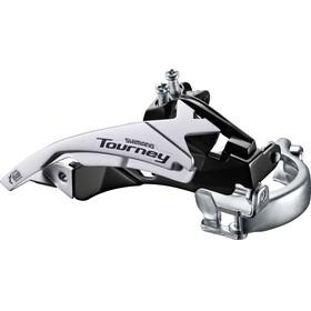 Shimano Tourney FD-TY500 Deragliatore Fascetta Top Swing 66-69° 6/7 velocità nero/argento